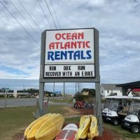 Outer Banks Sporting Events, Ocean Atlantic Rentals takes most creative Marquis!